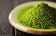 Teen med den smukke, grønne farve